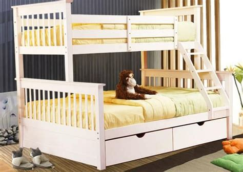solid wood kids bunk beds white twin full bunk bed  sale bunk beds pinterest kid