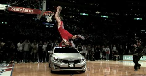 Griffin Dunk Kia by Griffin Slam Dunks A Kia Optima Photos