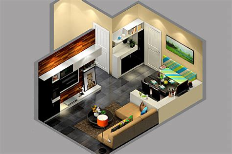 Small Apartment Floor Plans One Bedroom by Interior Design For Small Apartment Kyprisnews