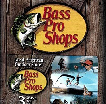 Where To Get Bass Pro Gift Cards - amazon archive shopportunist