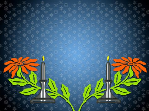 colorful background  candles  flowers