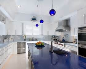 Blue Kitchen Countertops On pinterest the world s catalog of ideas