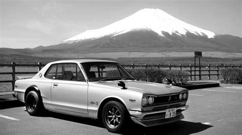 1970 Nissan Skyline by 1970 Nissan Skyline 2000 Gt R In Front Of Mount Fuji