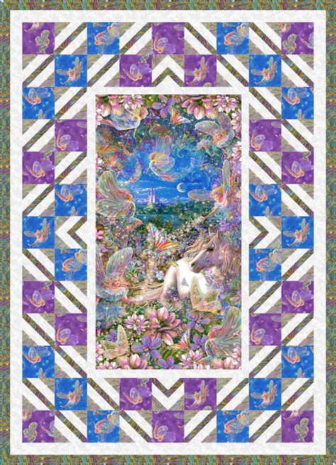 Panel Quilts Free Patterns by Free Pattern Dreamland Equilter Blogequilter