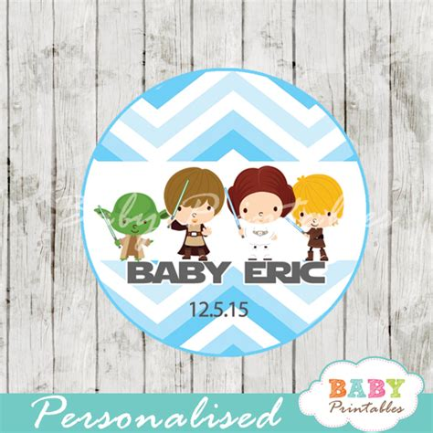 Nautical Theme For Baby Shower - blue chevron star wars baby shower favor tags d205 baby printables
