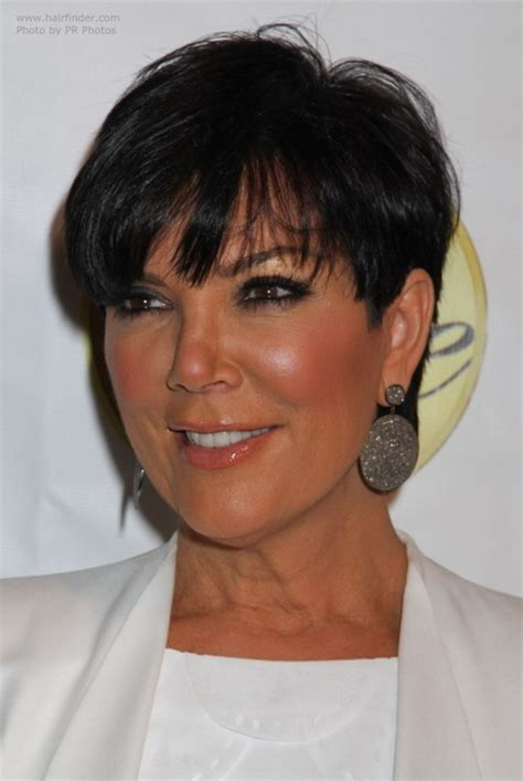 pic of back of kris jenner hair cut kris jenner hair cut back view short hairstyle 2013