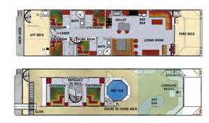 Houseboat Floor Plans by Houseboat Plans And Kits Details Plan Make Easy To Build