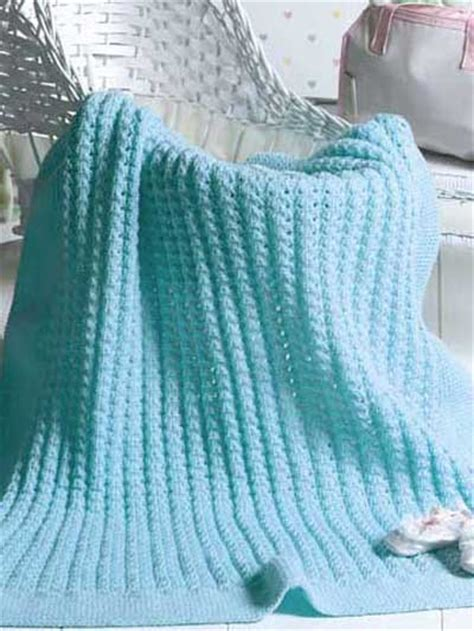 free knitted baby blanket patterns bundle of