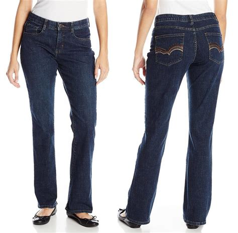 lee comfort fit jeans lee womens jeans comfort fit barely bootcut jean stretch