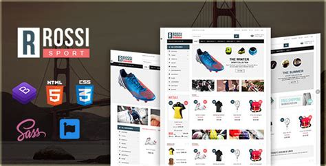 Rossi Sport Ecommerce Bootstrap 4 Template Download Rossi Sport Ecommerce Bootstrap 4 Bootstrap 4 Ecommerce Template