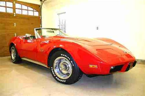 find used 1975 chevrolet corvette convertible loaded s matching a c 4 speed in find used 1975 corvette convertible restored roadster all s match no reserve in martinsville