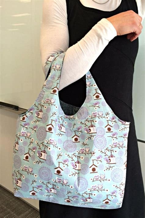 pattern tote bag reversible reversible hobo tote with free pattern bags necessaries