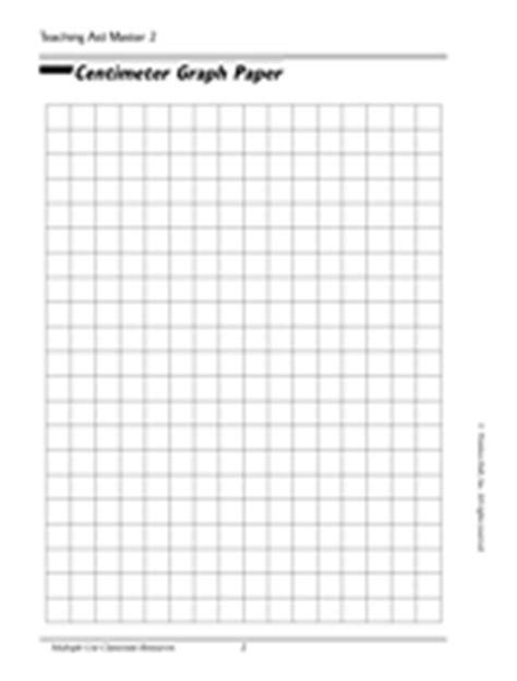 printable ruler grid centimeter graph paper teachervision