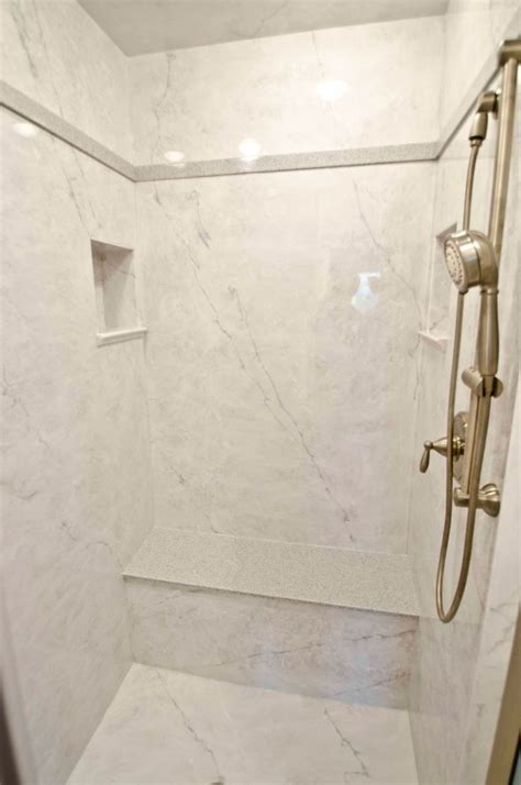 marble bathroom shower walls cultured marble shower roselawnlutheran