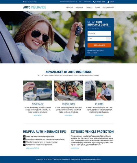 Auto Insurance Resp Website Template 001 Auto Insurance Responsive Website Template Preview Insurance Responsive Website Template Free