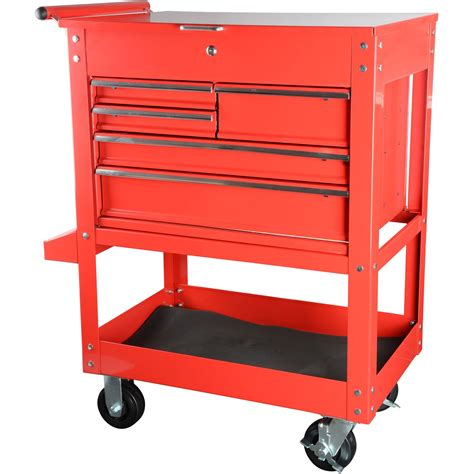 box cart jegs performance products 81411 tool box cart 5 drawer ebay