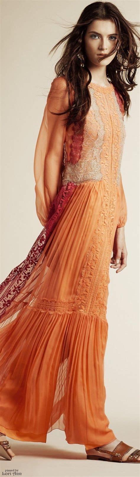 1000 ideas about orange maxi dresses on maxi