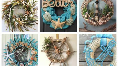 nautical wreaths ideas summer wreaths inspo beach