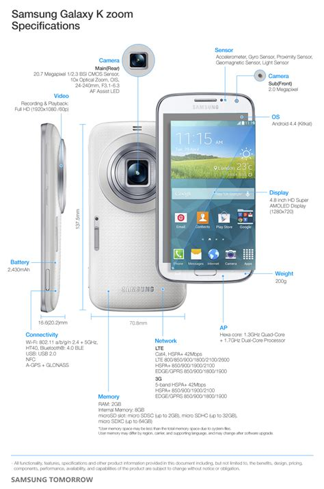 Samsung Zoom Samsung Introduces The Galaxy K Zoom A New Specialized Smartphone Samsung Global Newsroom