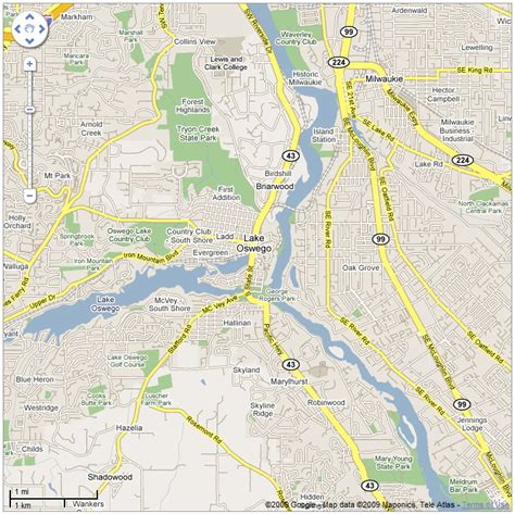 map of oregon lake oswego lake oswego map ask a merchant portland