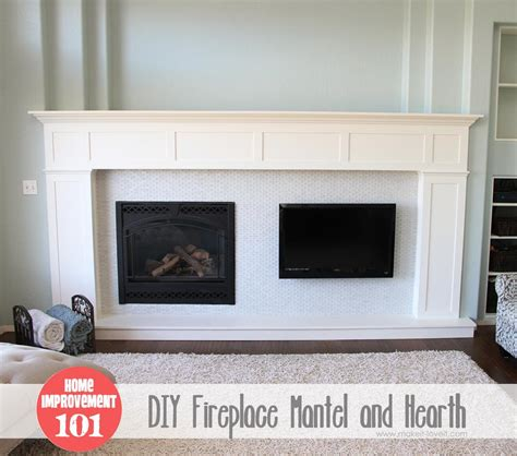 Build Your Own Fireplace Mantel by Build Your Own Fireplace Neiltortorella