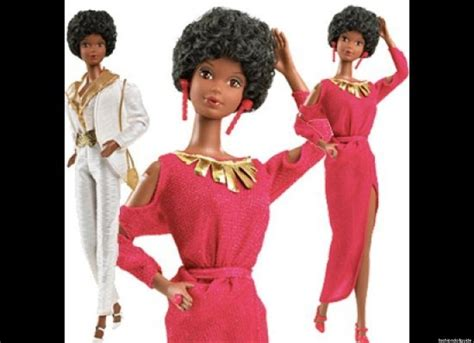 black doll 1980 gets an afro for the holidays