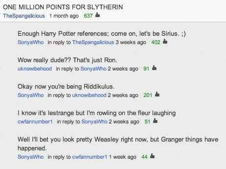 All Comments On Harry Potter - 22 quot harry potter quot puns that are so bad they re i am