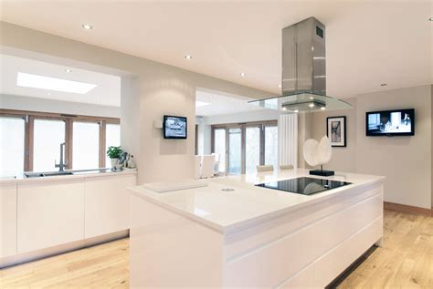 Gloss Interiors by High Gloss Open Plan Kitchen Diner By Concept Interiors