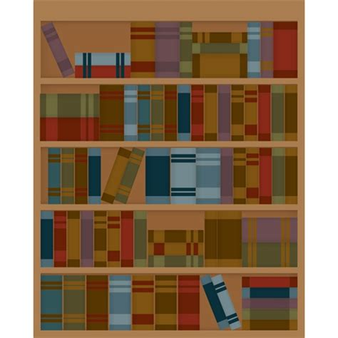 library bookcase printed backdrop backdrop express