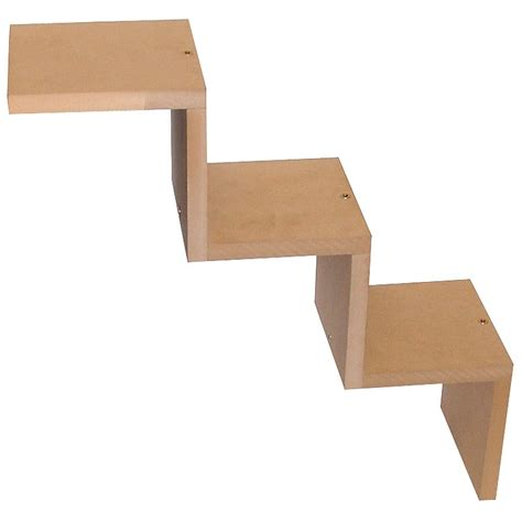 Zig Zag Wall Shelf by Set Of Two Zig Zag Shelf Wall Units Be Fabulous