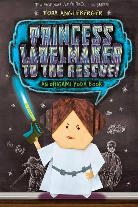 Tom Angleberger Origami Yoda - book review review princess labelmaker to the rescue