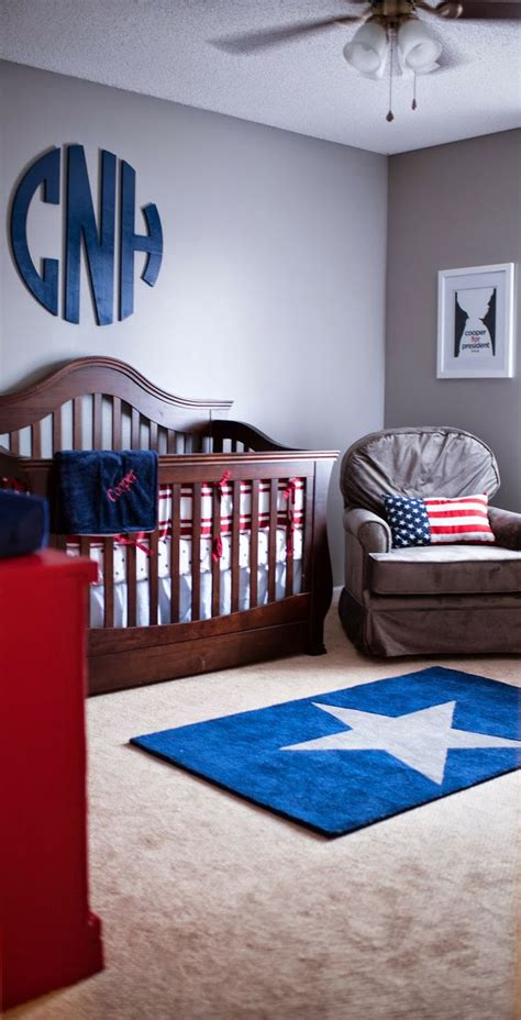 military home decor stars stripes and a military life nursery reveal coop