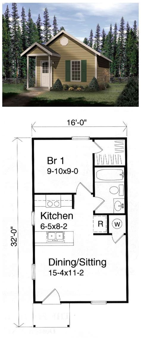 1 bed apt cabins cottages tiny houses and trailers 25 best ideas about 1 bedroom house plans on pinterest
