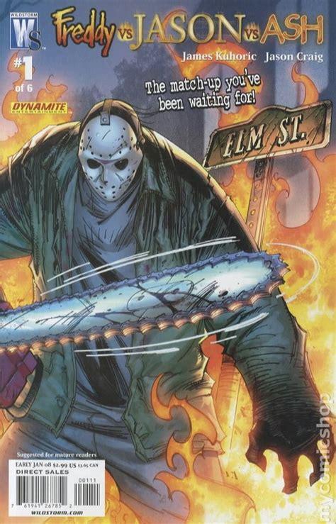 freddy  jason  ash  comic books