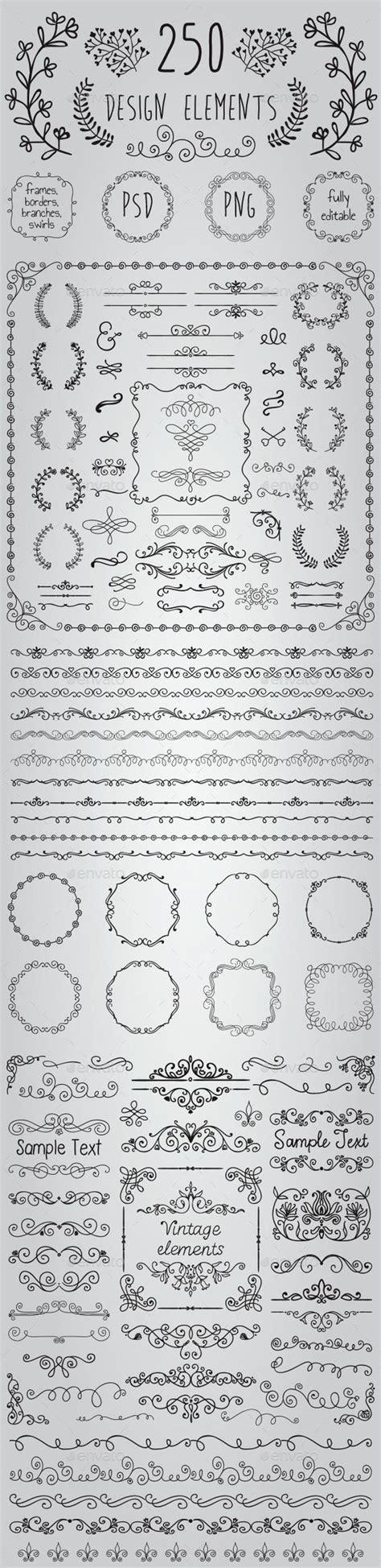 doodle elements 190 m 225 s de 25 ideas 250 nicas sobre adornos transparentes en
