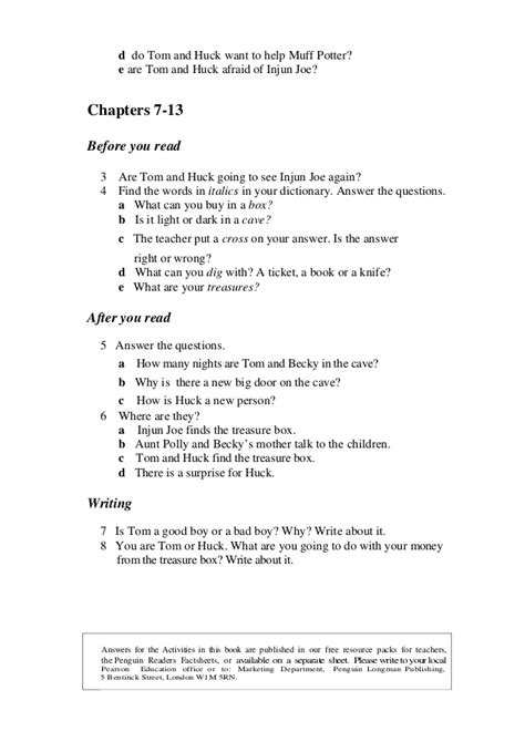 Level 1 the adventures of tom sawyer - penguin readers