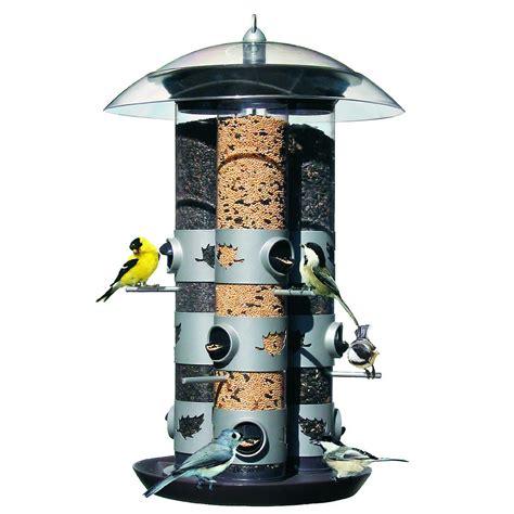 amazon com birdscapes 329 triple tube 2 in 1 feeder