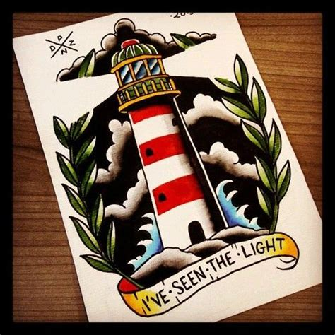 traditional lighthouse tattoo traditional lighthouse flash ideas