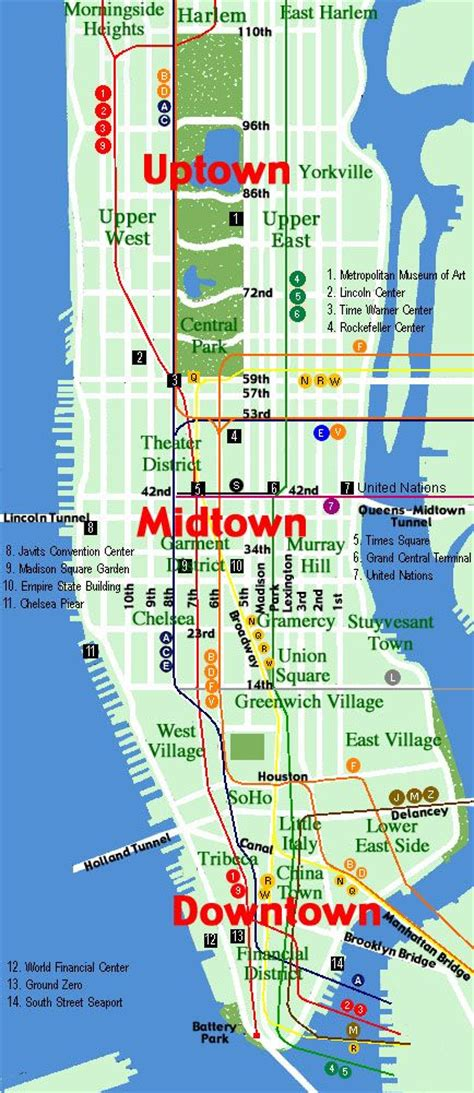 downtown new york map map downtown new york 25 unique manhattan map ideas on