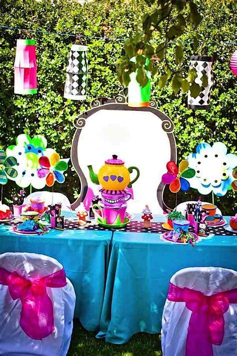 mad hatter themed decorations kara s ideas mad hatter tea kara s ideas