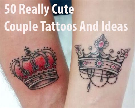 50 really cute couple tattoos and ideas