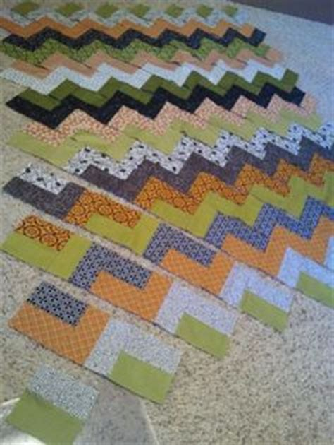 Chevron Quilt Pattern No Triangles by How To Make A Chevron Quilt Without Piecing Triangles No
