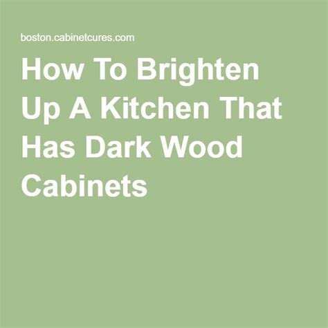 1000 ideas about dark wood cabinets on pinterest dark