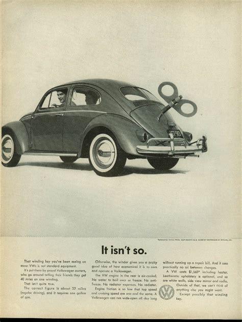 volkswagen ads all the great mad men era volkswagen ads