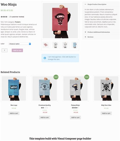 woocommerce page builder it and us