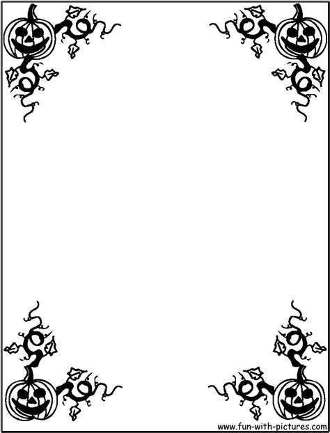 halloween coloring pages clip art halloween coloring pages halloween borders coloring page