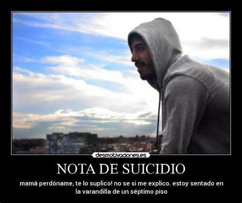 imagenes suicidas graciosas nota de suicidio desmotivaciones