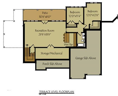 stone cottage floor plans olde stone cottage house plan by max fulbright designs