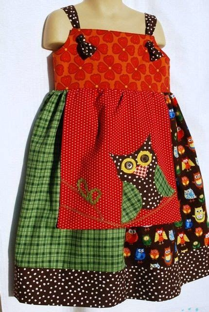 pattern for owl apron owl apron knot dress size 4t owl dress so cute and a