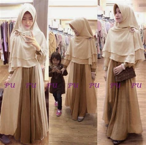 Best Seller Gamis Syari Felicia Abu Silver Syari Hijabjilbab miftah shop distributor supplier tangan pertama baju hijabers onlineshop konveksi baju